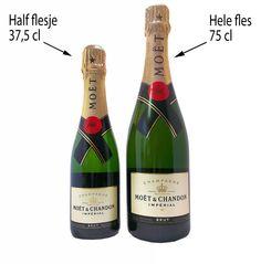 Moet & Chandon Brut Impérial Demi-Bouteille (halve fles vergeleken met een gewone fles champagne)