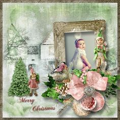 """The First Day of Christmas"" by Angelique's Scraps"