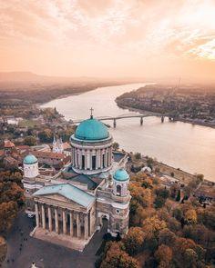 Esztergom, Hungary Beautiful Places To Travel, Cool Places To Visit, Places To Go, Travel Around The World, Around The Worlds, Budapest Things To Do In, Budapest Travel, Hungary Travel, Heart Of Europe
