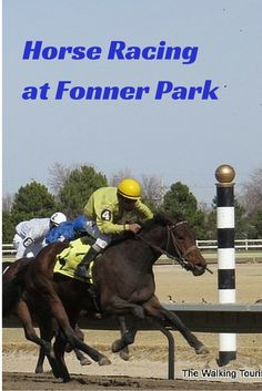 Horse Racing at Fonner Park in Grand Island