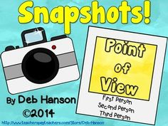Point of View- Introduction Powerpoint (1st, 2nd, and 3rd Person)