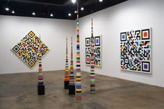 Artshow qrcode by Douglas Coupland