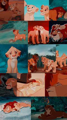 Disney Phone Wallpaper, Cartoon Wallpaper Iphone, Cute Cartoon Wallpapers, Animes Wallpapers, Lion King Drawings, Lion King Art, Disney Icons, Disney Pixar, Images Roi Lion