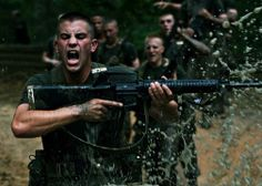 Marines in bootcamp