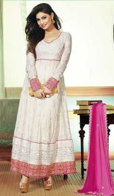 G3 Fashions Pooja gupta cream georgette designer salwar suit  Product Code : G3-LSA106559 Price : INR RS 5646