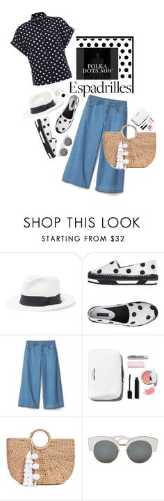 """Step into Summer: Espadrilles"" by shortyluv718 ❤ liked on Polyvore featuring Iris & Ink, Olsen, Dolce&Gabbana, JADE TRIBE and espadrilles"