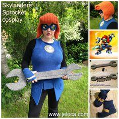 Skylanders Sprocket Cosplay by Jennifer Lori