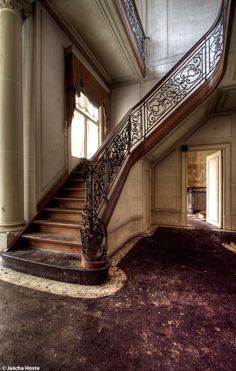 What I could do to an Abandoned castle lime this. I'm in love. Abandoned castle in Belgium