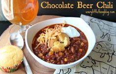 Chocolate Beer Chili, from Every Little Thing