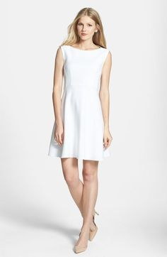 French Connection 'Feather Ruth' Fit & Flare Dress available at #Nordstrom