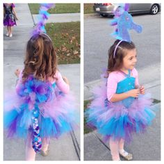 Homemade Seahorse halloween costume