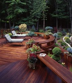 Wouldn't this wonderful deck be relaxing? Somewhere in New Jersey © Decks by Kiefer www.decksbykiefer.com/
