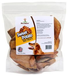 Sweet Potato Dog Treats Made in USA Only by Pet Eden, Best Grain Free Natural Healthy Chews for Dogs, 1 lb, Free of Fillers, No Additives, No Preservatives, Premium Quality Gourmet Snacks for All Dogs -- Trust me, this is great! Click the image. : Dog treats