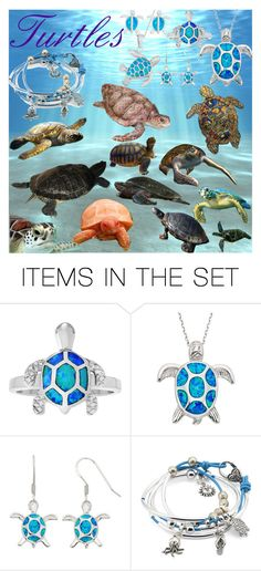 """""""Turtles"""" by taradactyl22 on Polyvore featuring art"""