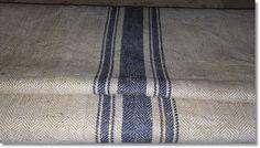 Weiteres - Vintage Leinensack Mehlsack Sackleinen - ein Designerstück von stoff_farbe bei DaWanda