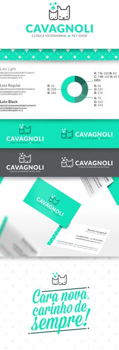 Cavagnoli Clínica Veterinária + Pet Shop on Behance