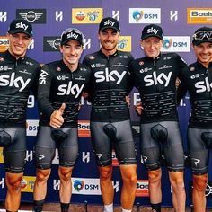 Team Sky win the inaugural Hammer Series 2017 Cycling Lycra, Cycling Wear, Cycling Outfit, Uci World Tour, Lycra Men, Olympic Sports, Bicycle Race, Sport Man, Physique