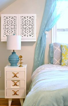 is there ever an aspect of a room that you think u201chow am i going to work around thisu201d well for me it was the lovely in wall air conditioner unit that