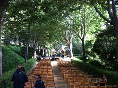 Fun Jazz provant so als jardins de Santa Clotilde.