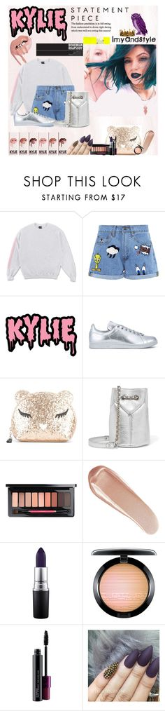 """""""kylie spring season"""" by imyandstyle ❤ liked on Polyvore featuring Paul & Joe Sister, KRISVANASSCHE, adidas, Furla, Jérôme Dreyfuss, NARS Cosmetics, MAC Cosmetics and Seletti"""