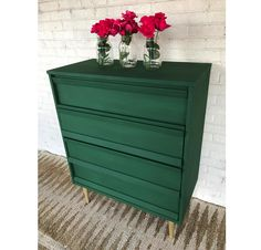 Amsterdam Green Chalk Paint Projects To Inspire This Dresser Is By South Carolina Stockist