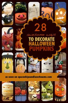 Need inspiration for your Jack-O-Lantern? Whether you want to carve, paint or decorate it, we've got the Best Pumpkin Decorating Ideas!