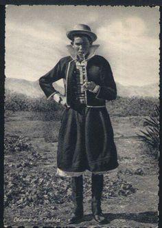 Costume maschile di Teulada (Sardegna)