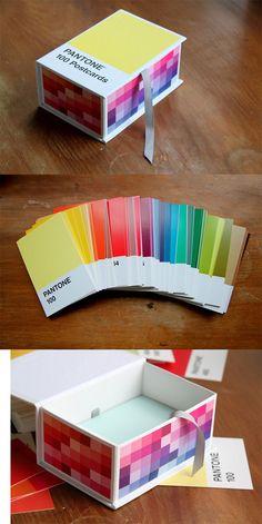 Pantone Postcards Box! Love it!!