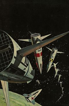 Ed Valigursky - This World Is Taboo, 1961. /The Science Fiction Gallery