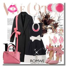"""Romwe X-3"" by azra-90 ❤ liked on Polyvore featuring Salvatore Ferragamo, SHOUROUK, Saloukee, Clinique and Topshop"