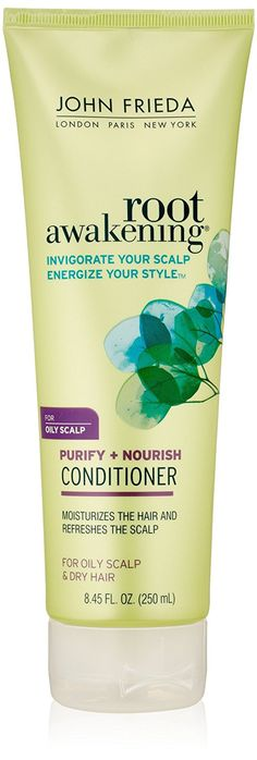 John Frieda Root Awakening Purify Plus Nourish Conditioner, 8.45 Ounce * This is an Amazon Affiliate link. Find out more about the great product at the image link.