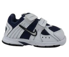 Nike Baby Downshifter 3 Alt Bt - Size 4c - Navy / Silver / White Nike. $27.99