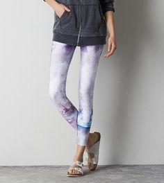 Multi AEO Hi-Rise Color Burst Legging