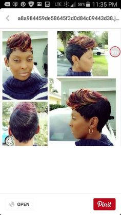 Quick weave 27 piece with layered side styles by cola dope short 27 piece with swoop pmusecretfo Choice Image