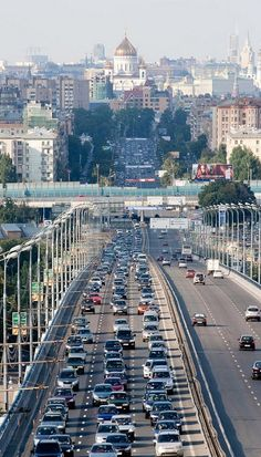 Moscow highway, Russia - by-alexript Largest Countries, Countries Of The World, World Largest Country, Wladimir Putin, World Street, Russia Ukraine, Beautiful Sites, Beautiful Places, Urban Life