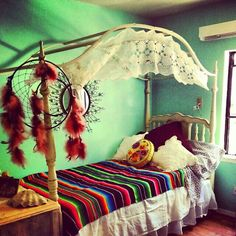 boho canopy for a future daughter....cute!
