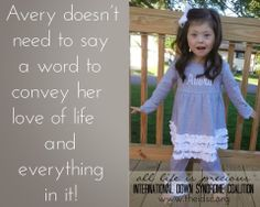 International Down Syndrome Coalition- IDSC: Meet Avery!