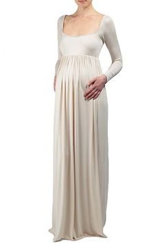 THE ISA DRESS IS A GREAT DRESS FOR ANY OCCASION BEFORE, DURING, AND AFTER YOUR PREGNANCY. LONG SLEEVE, SQUARE NECKLINE, AND EMPIRE WAIST- CLASSIC AND ELEGANT.  CELEBRITY MOMS LIKE THE KARDASHIAN SISTERS LOVE TO SLIP INTO THIS MAXI.