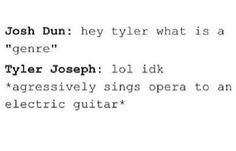 Guitars are almost nonexistent in tøp though