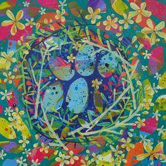 """Five Eggs"" by Claire West www.claire-west.com"