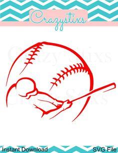 Baseball svg child svg svg files for silhouette by CrazyStixs