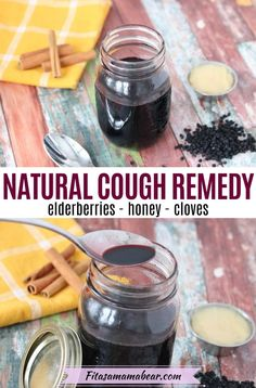 Use this easy elderberry cough syrup recipe to help ease a scratchy throat and reduce cold symptoms. With only six ingredients, this homemade elderberry syrup recipe is easy to whip up but packs a big punch to your immune system. #coughremedies #elderberry #elderberries #elderberrysyrup #naturalremedy #elderberryrecipes Elderberry Cough Syrup, Elderberry Honey, Elderberry Recipes, Christmas Veggie Tray, Natural Cough Remedies, Holistic Remedies, Homemade Cough Syrup, Drops Recipe, Scratchy Throat