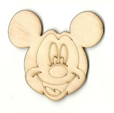 Wooden Pieces 71178: Mickey Mouse - Unfinished Laser Cut Out Wood Shape Craft Supply Dsy133 -> BUY IT NOW ONLY: $46.76 on eBay!