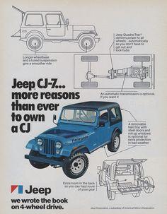 Jeep CJ-7 Ad (1977)