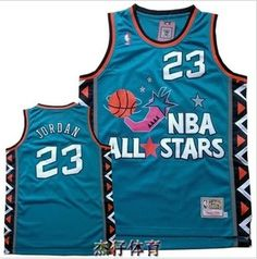 10cf7084f43518 Aliexpress.com   Buy Free shipping Hot sale Retro 96 ALL Star East 23   Basketball Jersey Embroidery Logos High quality Classic Jerseys from  Reliable jersey ...