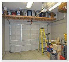 Our Big Shelf Custom Garage Overhead Storage