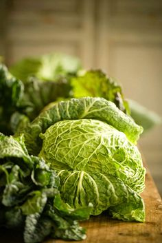 Savoy cabbage with chick peas and celeriac recipe