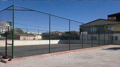 Tel çit,Tel örgü, Tel çit, Panel çit ve Spor sahaları | POMETAL tel örgü ve tel çit imalatı;Halı saha teli panel çit fiyatları