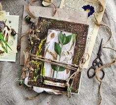 Скрапоголики: Книга для хранения гербария от Эль-Ка