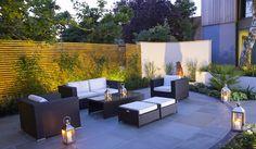 Contemporary curves | Sue Townsend Garden Design